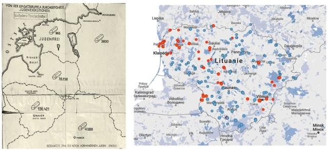 carte Lituanie séminaire